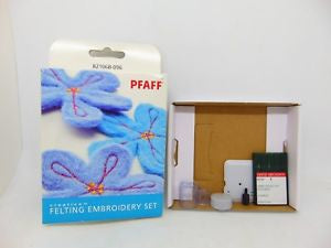 Pfaff Felting embroidery set