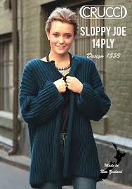 Crucci Pattern Sloppy Joe 1553