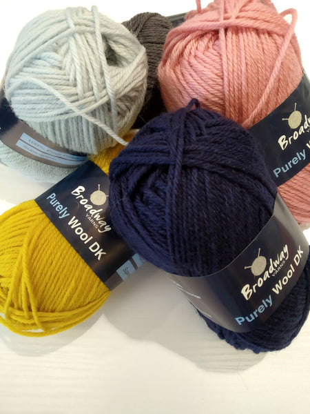 Broadway Yarns: Purely wool DK
