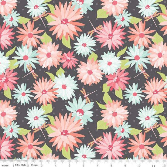 Printed Cotton: Paper Daises