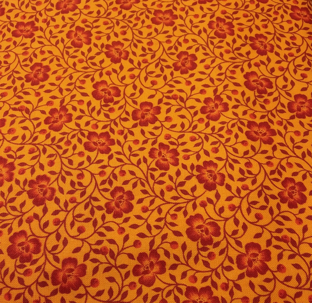 Orange/Red: Dearest rose Collection for African Sky Fabrics