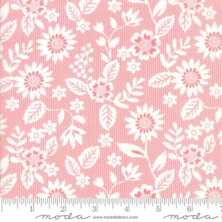 Pink/Coral: Sugar Pie - Lace Garden by Lella Boutique 5041-19