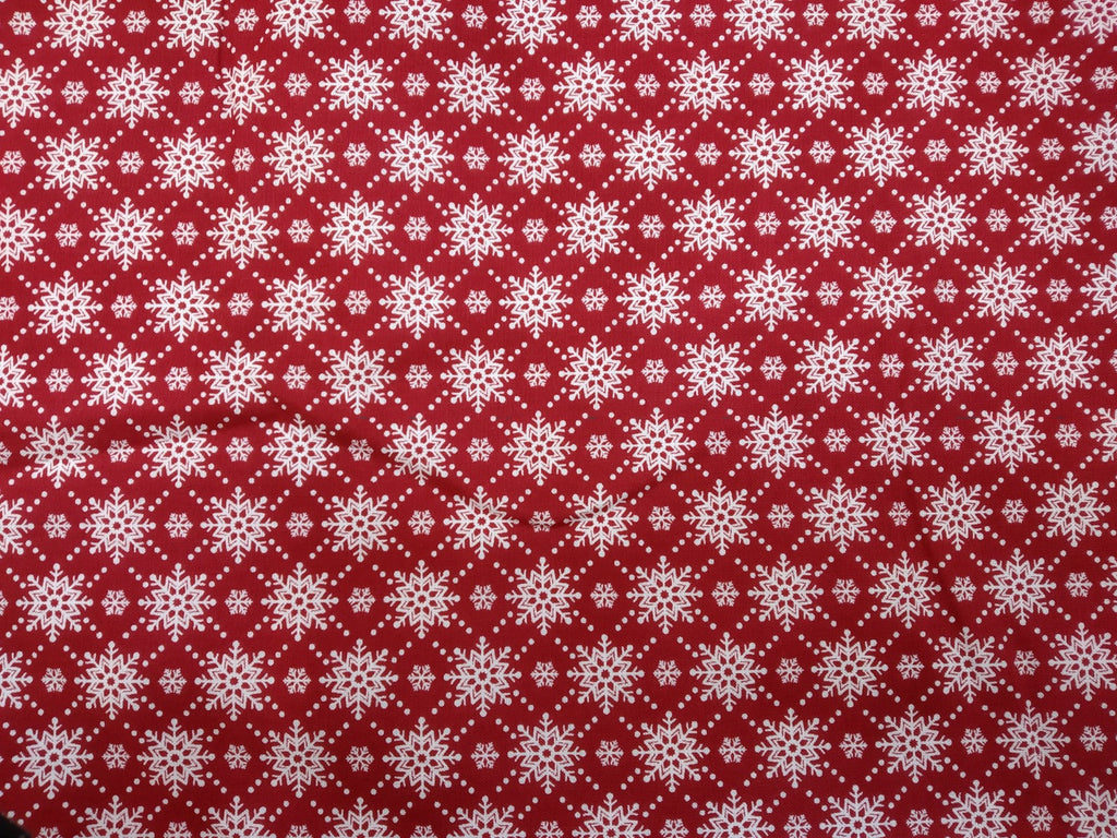 Christmas Fabrics Christmas Wishes Red