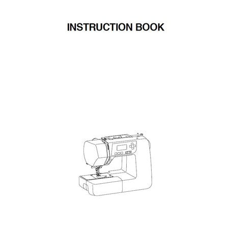 Instruction Manual: Janome 3160QDC