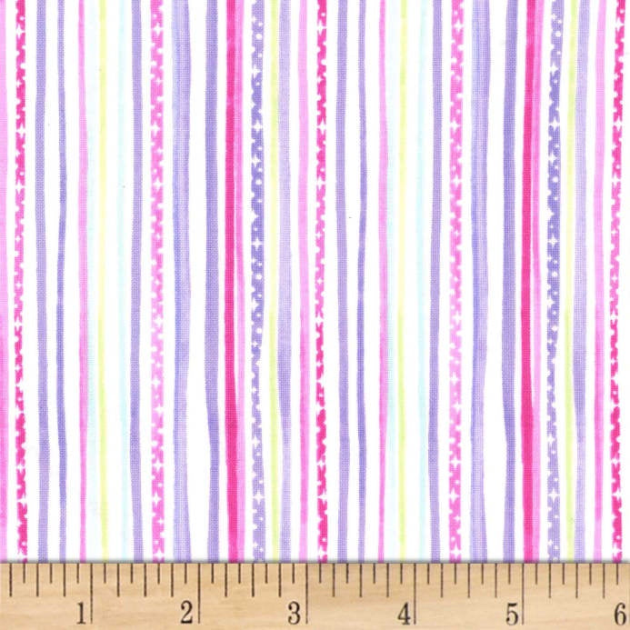 Printed Cotton: Pixie Stripe DC7847