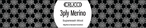 Crucci Merino Superwash 3ply