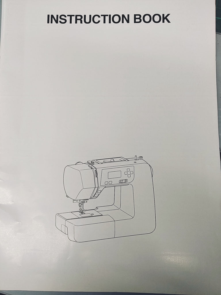 Instruction Manual: Janome 2160QDC