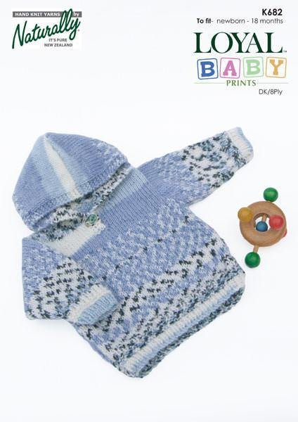 Naturally Baby prints: Hooded Sweater