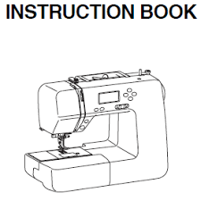 Instruction Manual: Janome DC2050