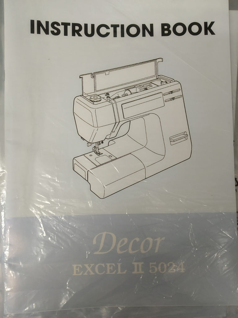 Instruction Manual: Janome 5024