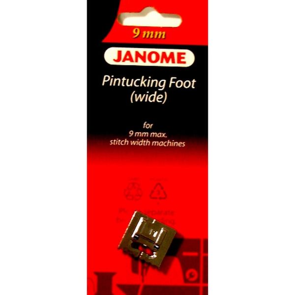 Pintucking Foot (Wide) 9mm