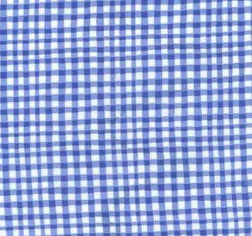 Blues: Gingham Play Cobalt blue