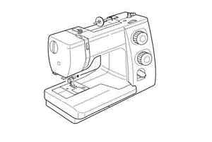 Instruction Manual: Janome 525S, 7025, Dm2000
