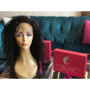 150% Density Custom Made 360 Lace Wig - Boudoir Beauté Hair