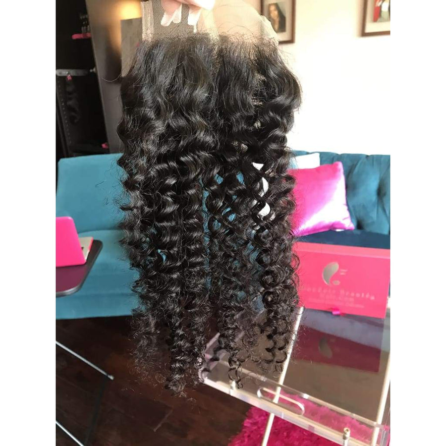 4 by 4 Lace Closures - Select Texture Option - Boudoir Beauté Hair