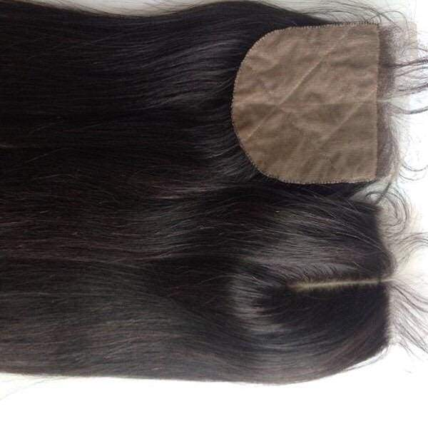 4 by 4 Silk Closures - Select Texture Option - Boudoir Beauté Hair