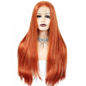 Strawberry Bombshell Custom Full Lace Wig - Boudoir Beauté Hair