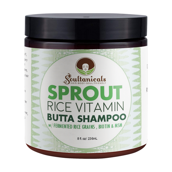 Soultanicals Sprout Rice Vitamin Butta Shampoo 8 OZ