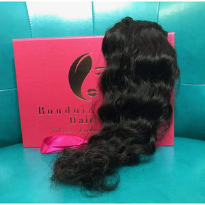 Here is your sample bundle - Boudoir Beauté Hair
