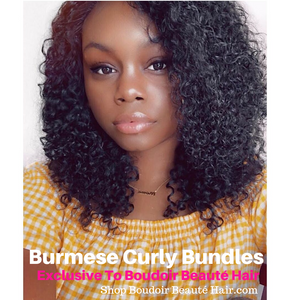 2 Bundle Deal Burmese Curly
