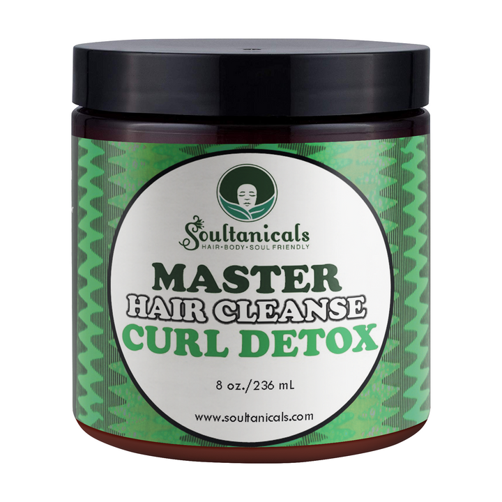 Soultanicals Master Hair Cleanse Curl Detox 8 OZ