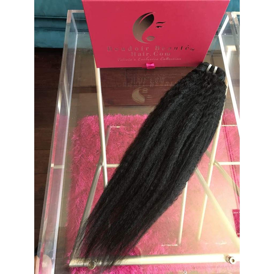 South East Asian Kinky Straight - Boudoir Beauté Hair