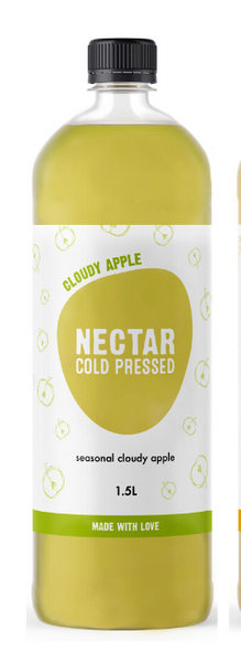 Nectar Cold Pressed 1.5 L CLOUDY APPLE