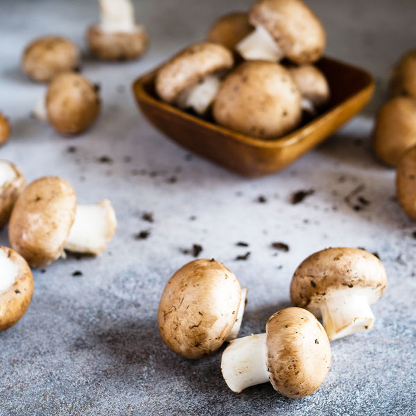 Seasonal Organic White Mushrooms 150G