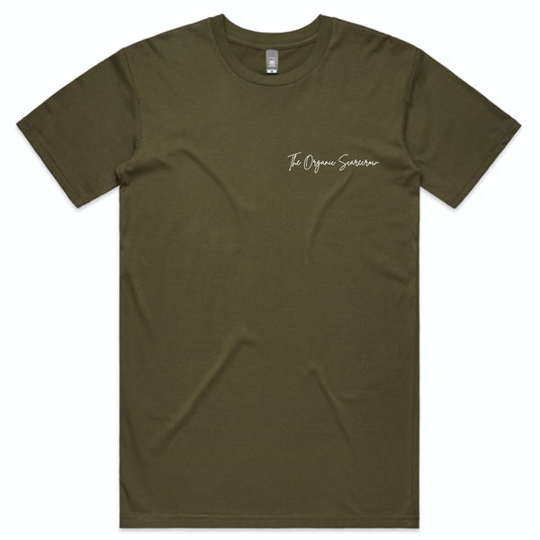 TOS Merch - Scarecrow Summer T-Shirt (Army)