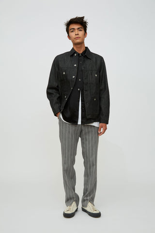 Goodfight FW18 200 Gram Special Denim Jacket Black