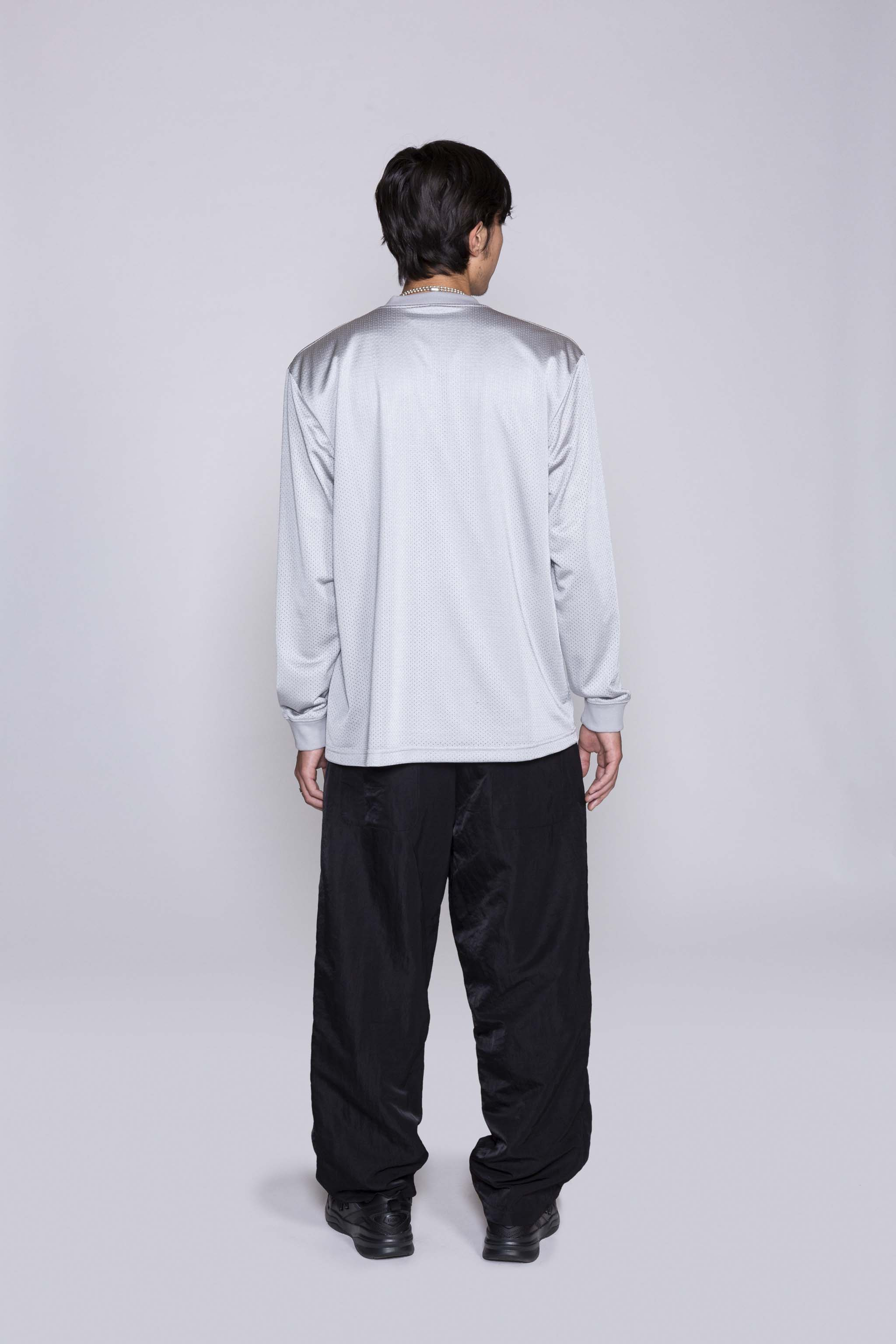 Ghostee L/S Top Silver