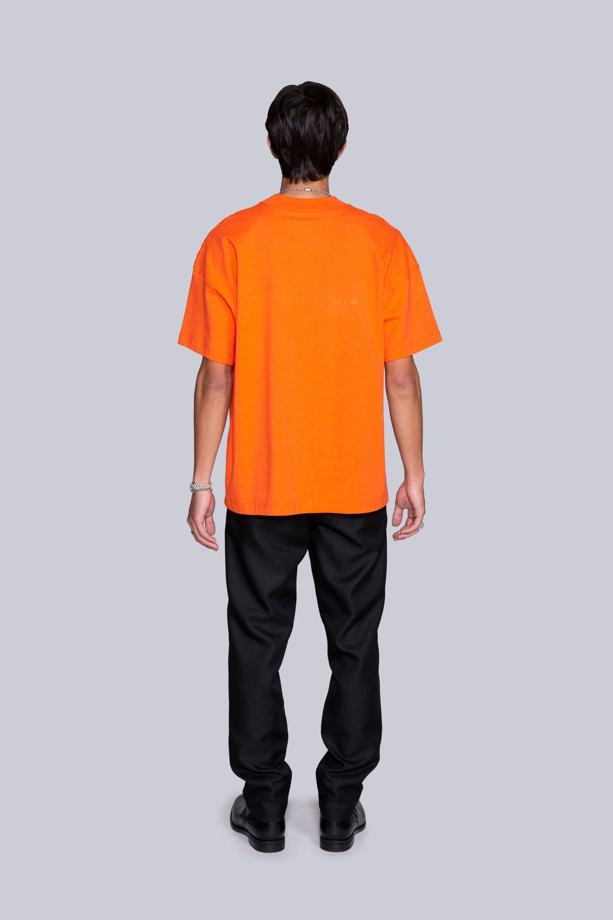 Base Mock S/S Tee Orange