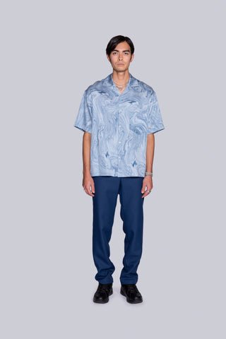 Leisure S/S Shirt Blue
