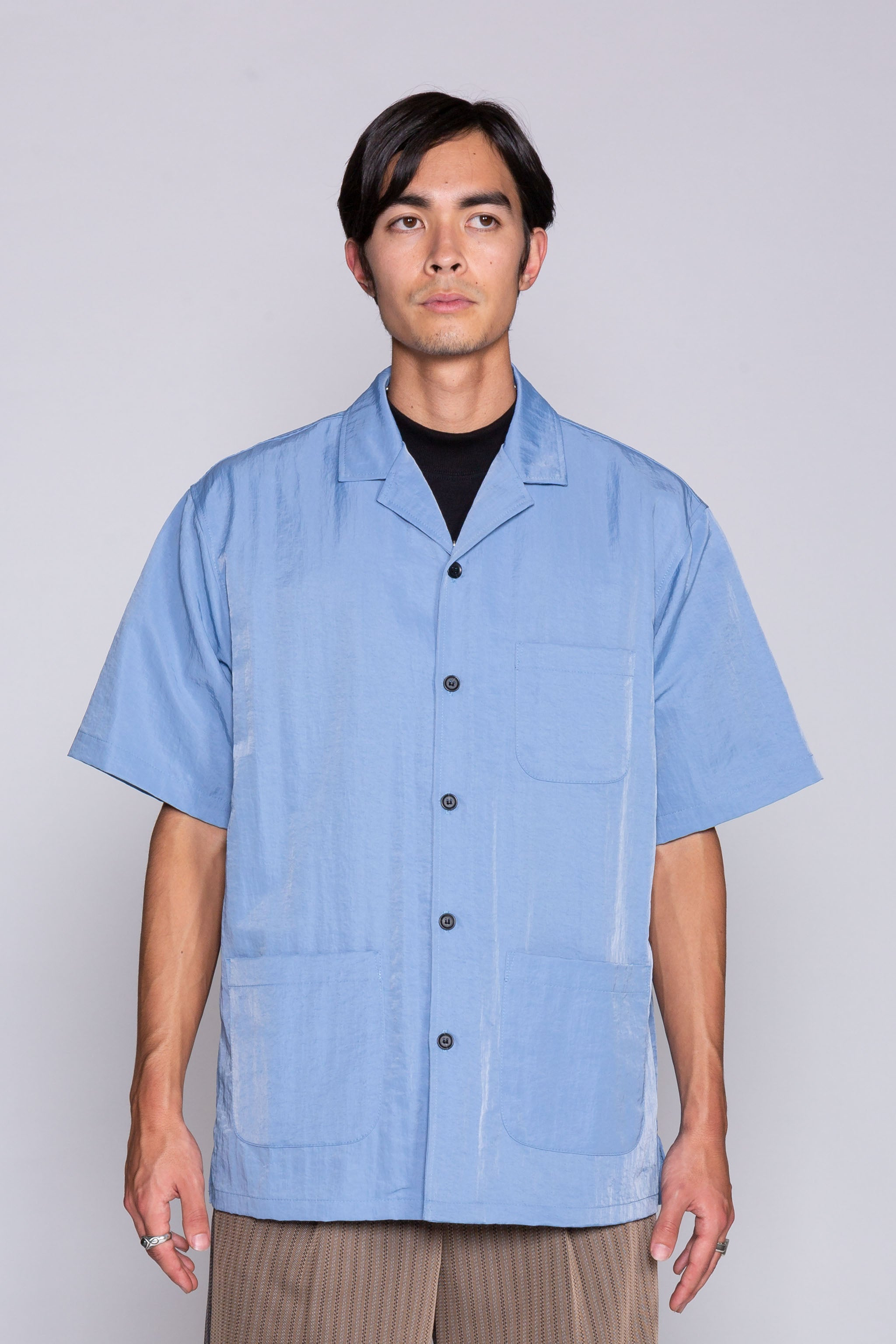 Cover S/S Shirt Blue