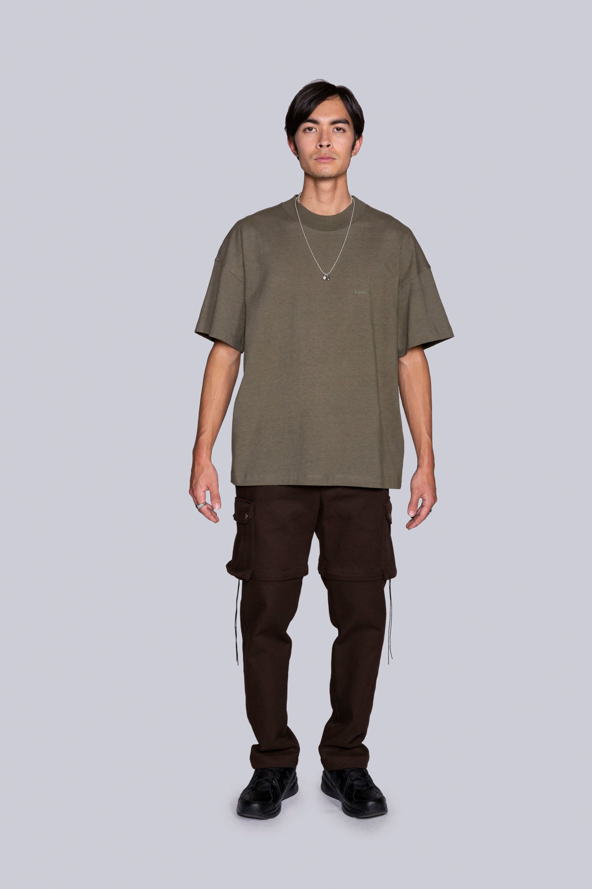 Base Mock S/S Tee Army