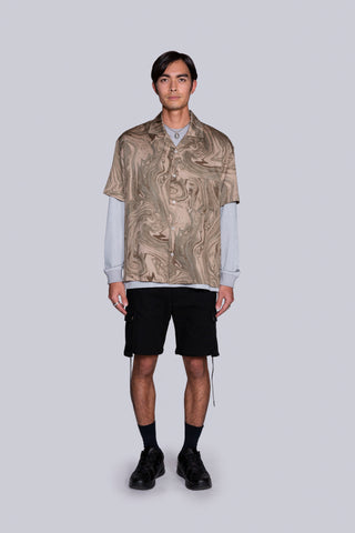 Leisure S/S Shirt Brown