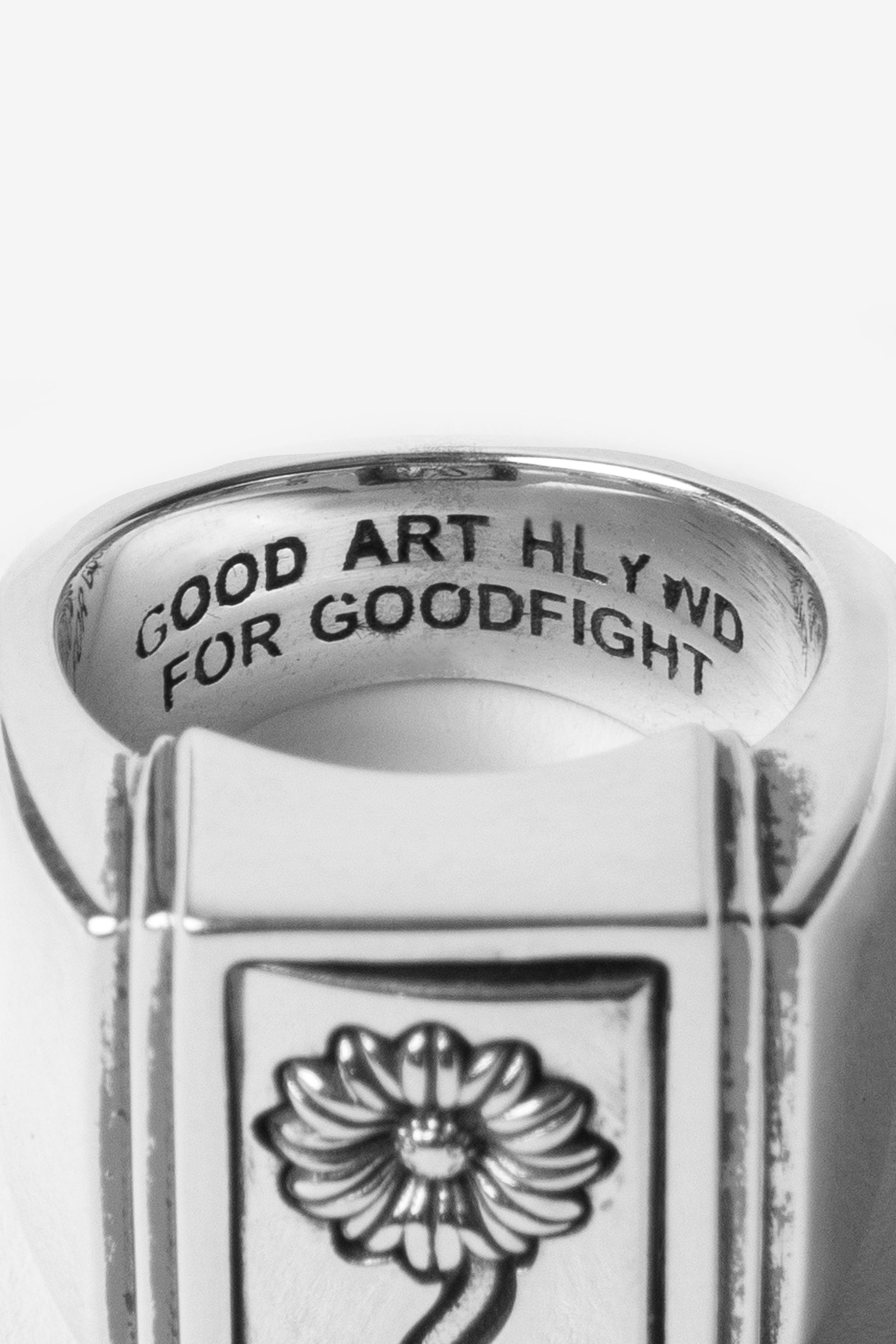 Good Art Hlywd for Goodfight Hippy Flip Tank Ring