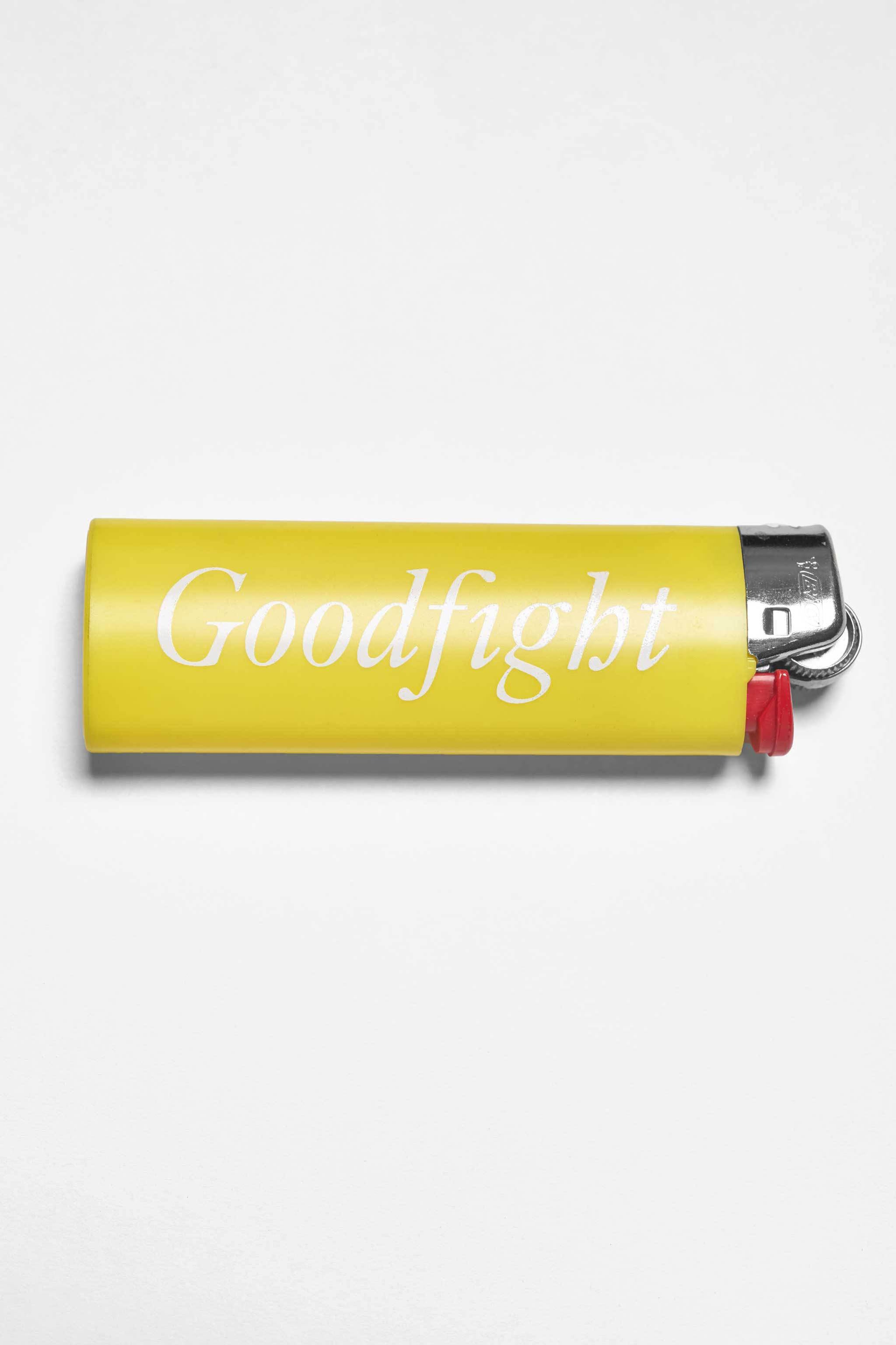 Goodfight Two-Sided Classic Logo Lighter