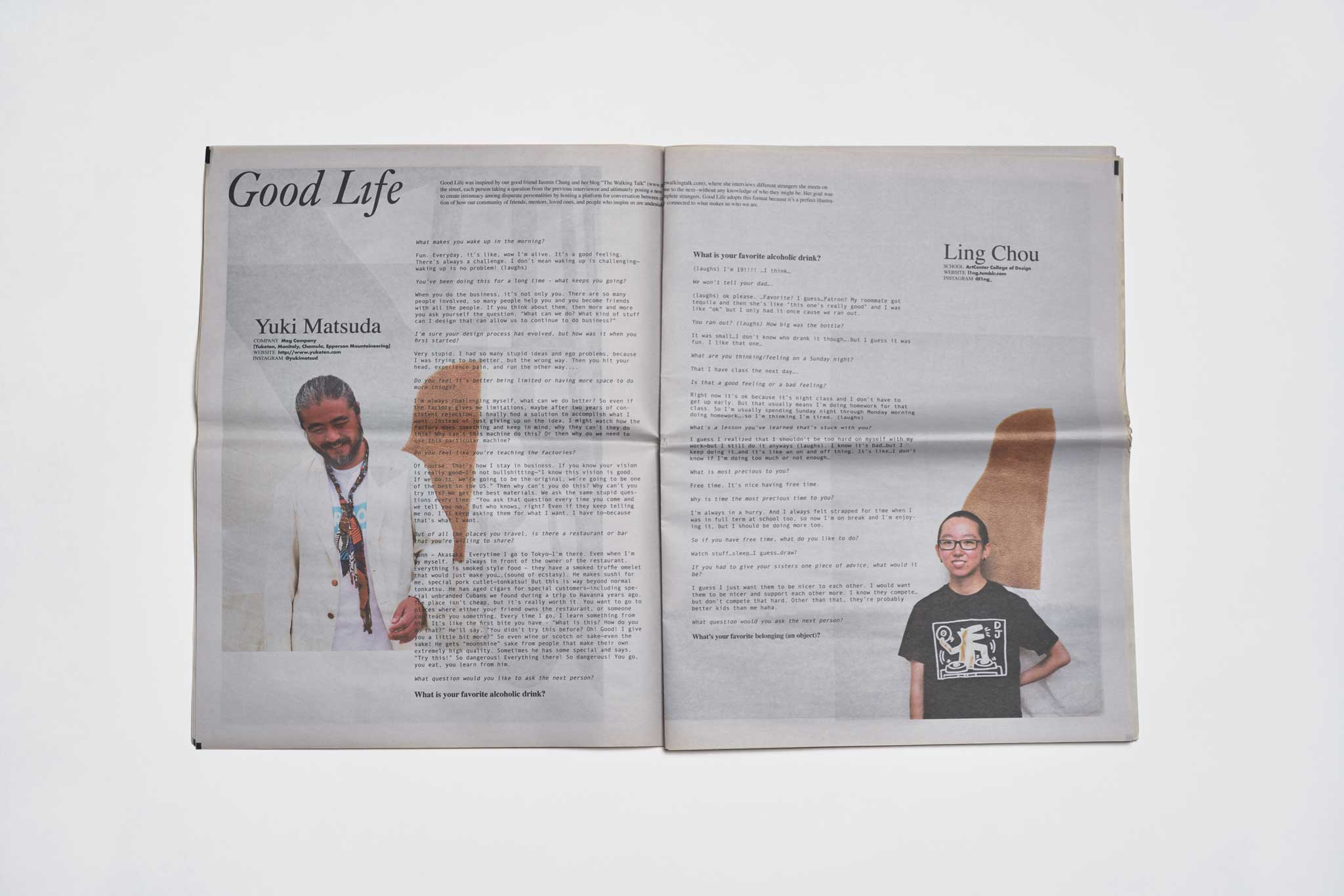 Goodfight Good Life Volume I Zine