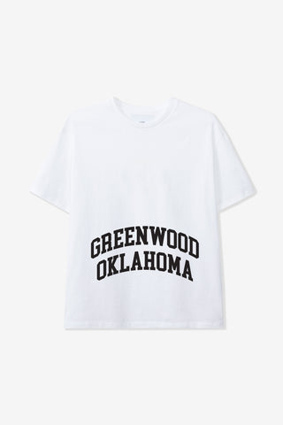 Goodfight Greenwood Tee White