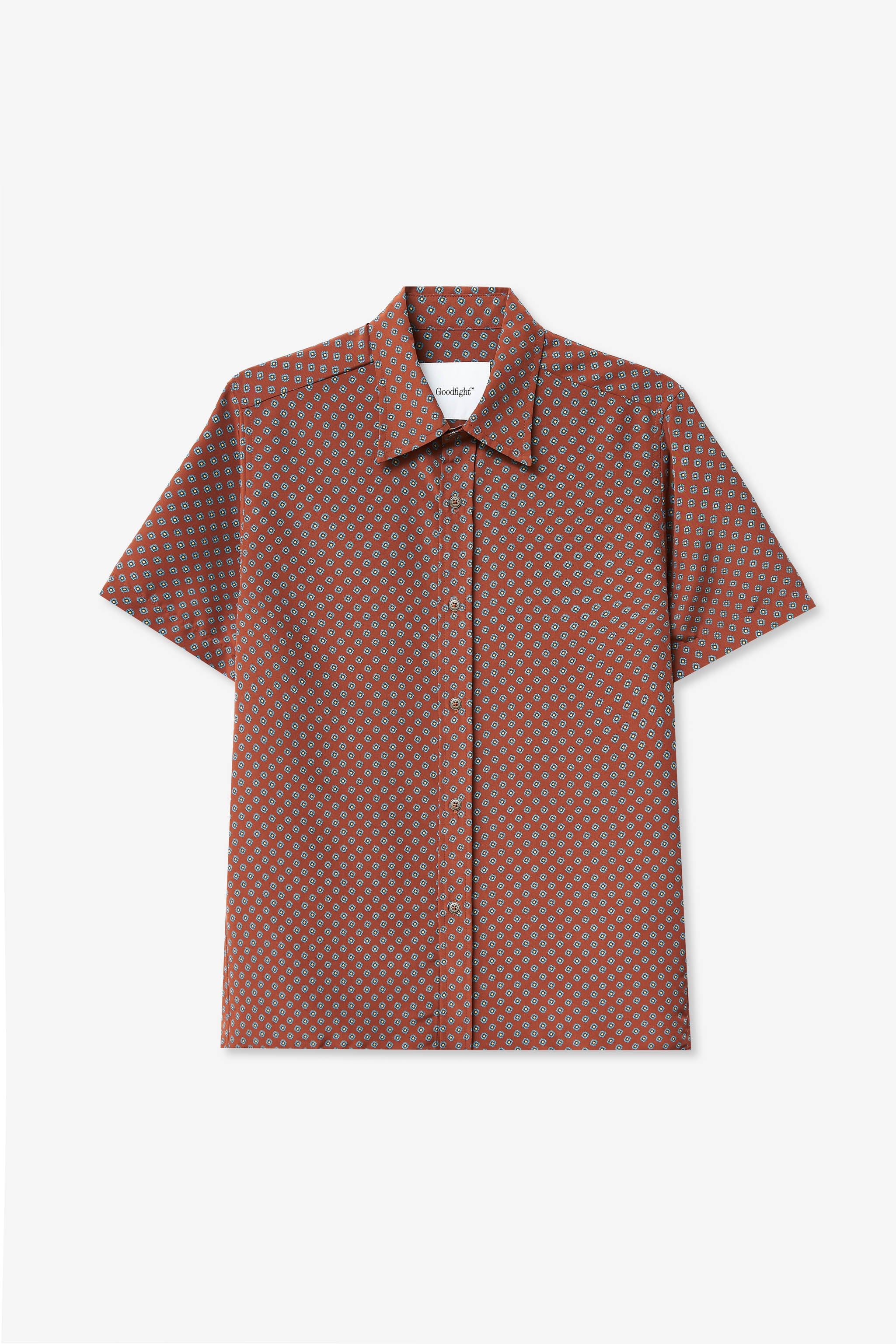 Goodfight Orchard Shirt Brown