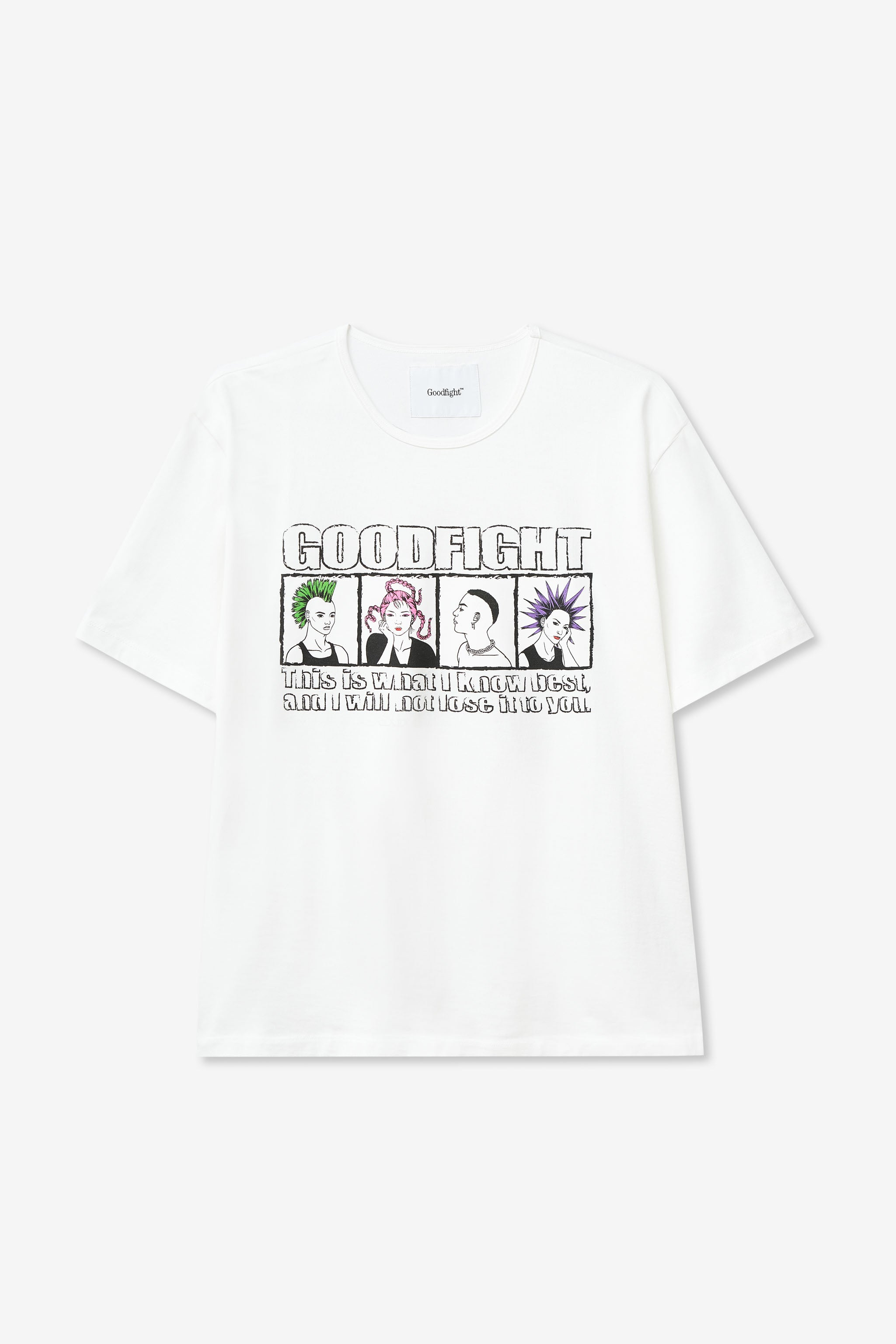 Goodfight Salon Tee White