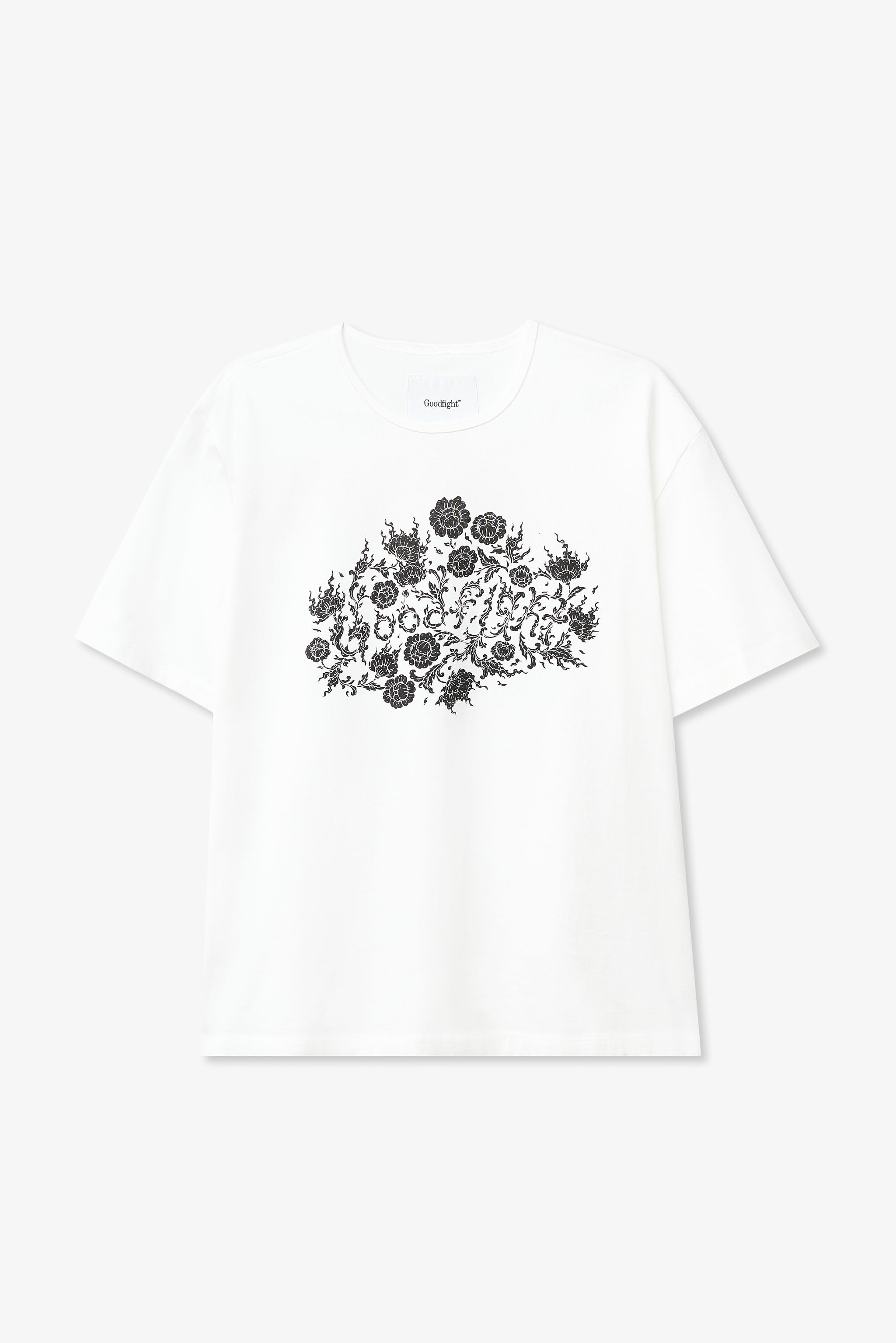 Goodfight North Am Tour Tee White