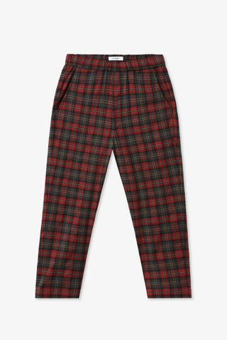 Goodfight Daily Dose Trouser Red Plaid