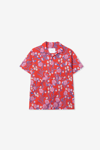 Goodfight Bloom Pocket Shirt Red Floral