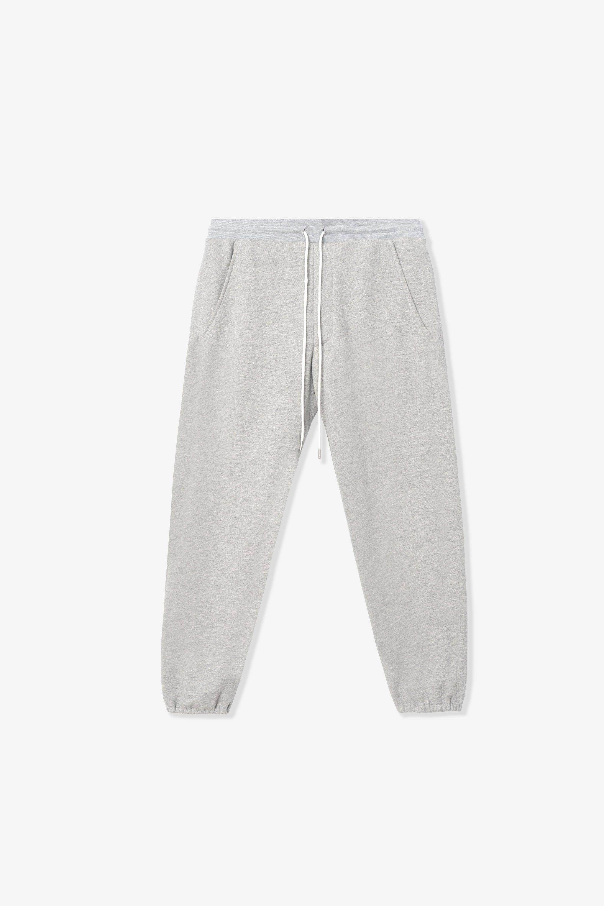 Goodfight Cheshire Crop Sweatpants Heather Grey
