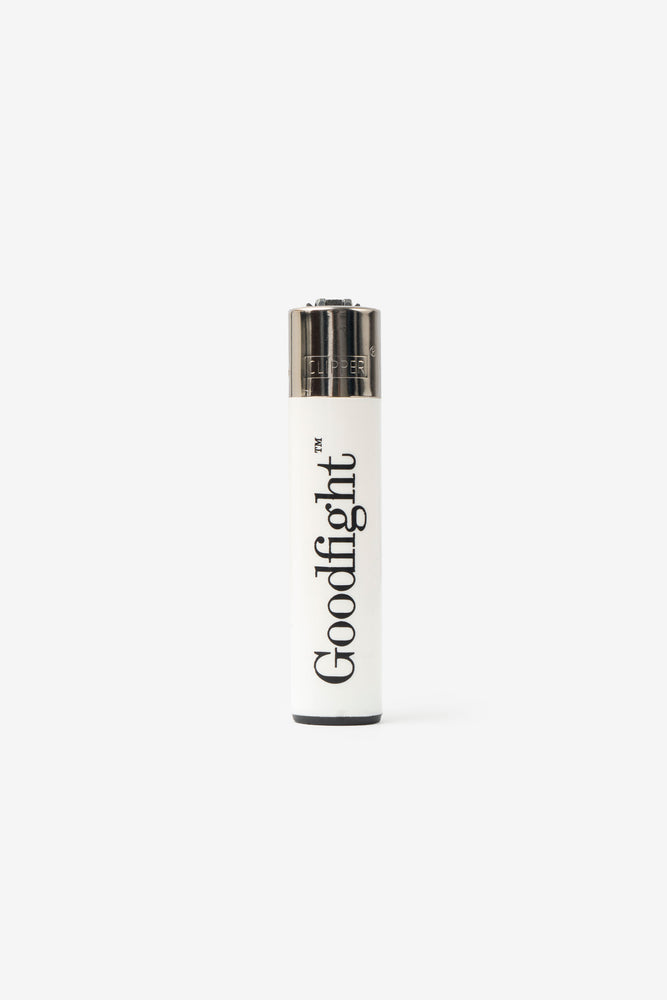 Goodfight Clipper Lighter White