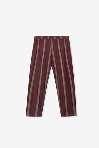 Goodfight Daily Dose Slim Trouser Red Stripe