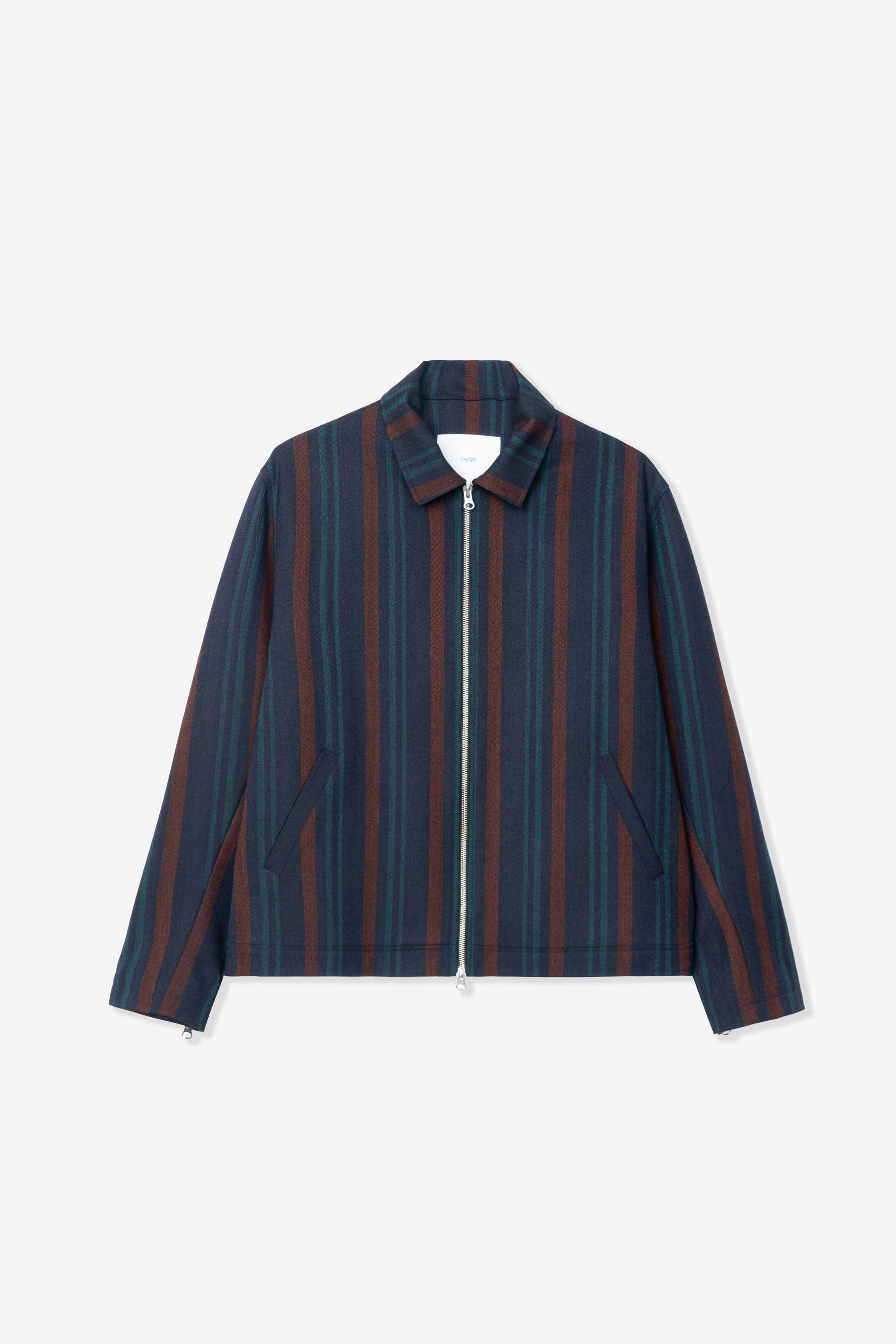 Goodfight FTW Jacket Blue Stripe