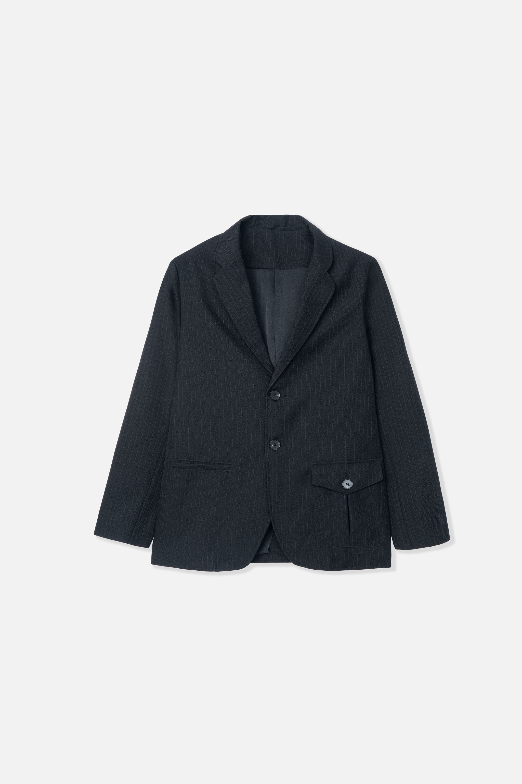 Goodfight Gemini Blazer Black Pinstripe